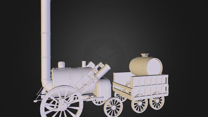 Henry Ford's Rocket 3D Model