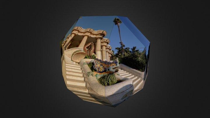 Park Güell - Drac 3D Model