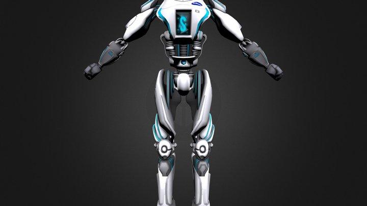 Samsung Sensation Robot 2012 3D Model