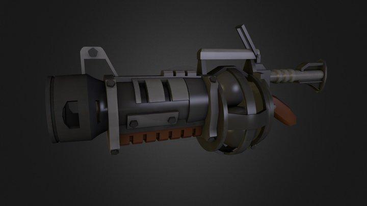 MIRV Grenade Launcher Team Fortress 2 3D Model