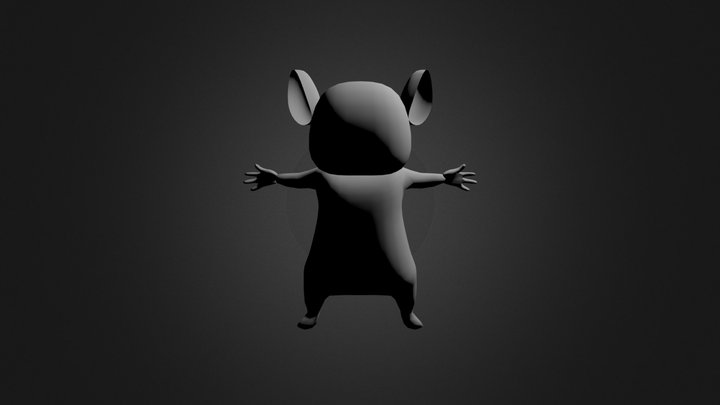 mouse-ish thing.blend 3D Model