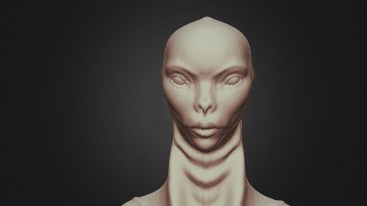 Quarian Concept 3D Model
