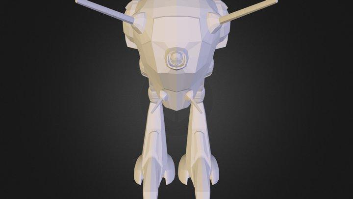 BattlePod_6.obj 3D Model