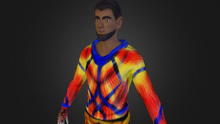 Squba Pilot 3D Model
