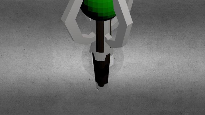 Sonic Screwdriver 3D Model