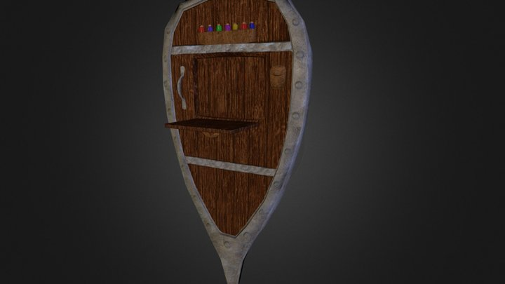 Alchemist's Tower Shield 3D Model