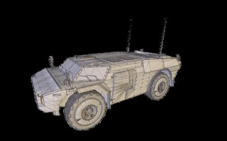 Fennek 3D Model
