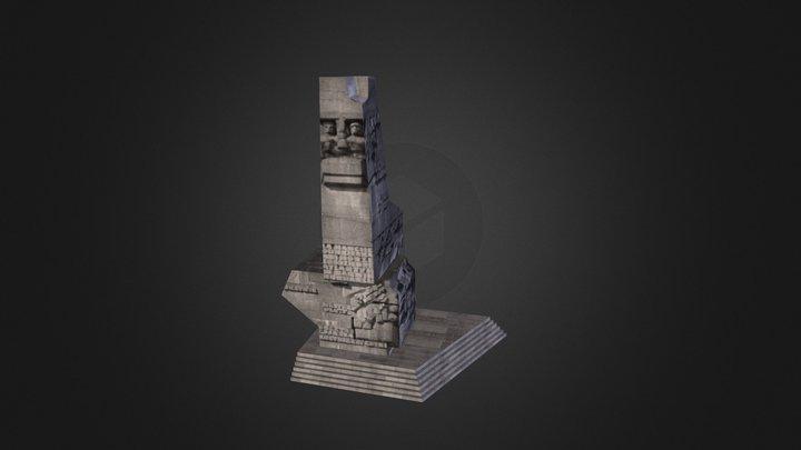 Westerplatte 3D Model