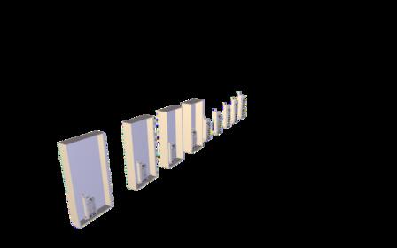 Buildings_Oneof99_CDrawers.obj 3D Model
