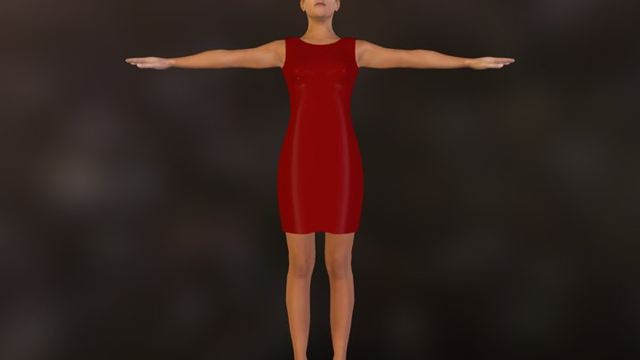 demo_clothed_red.zip 3D Model