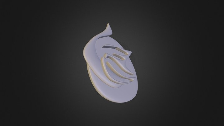 LittleGarlic Logo 3D Model