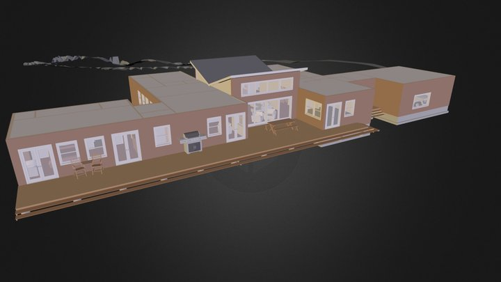 bluhome-2013-06-02.3ds 3D Model