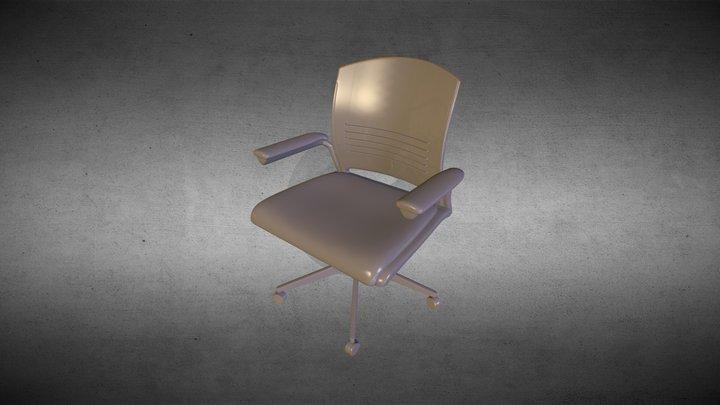 einar chair desk 3D Model