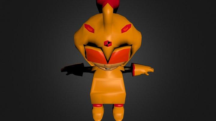 char1.blend 3D Model