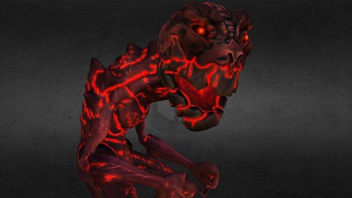 Imp Demon 3D Model