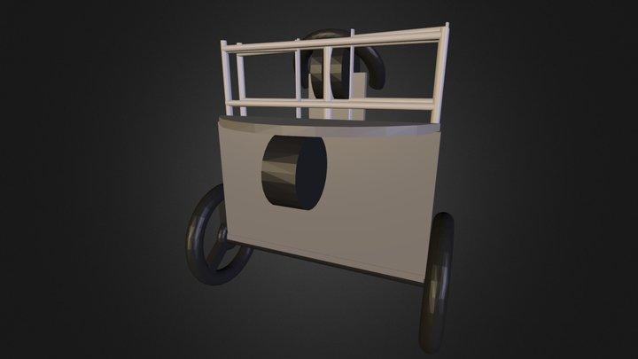 Scarter folded ver1.0.dae 3D Model