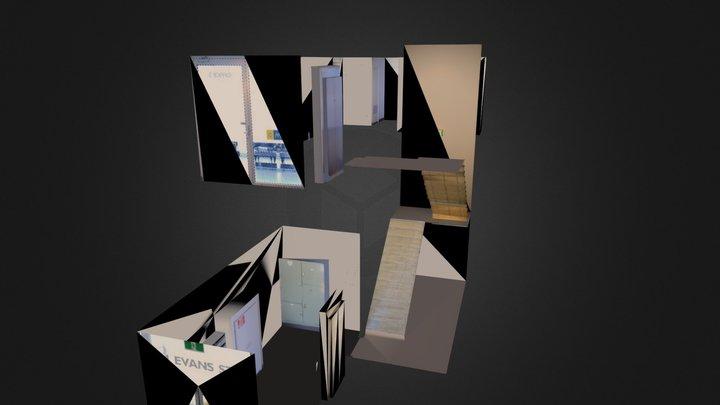 3ee Dee office entry 3D Model
