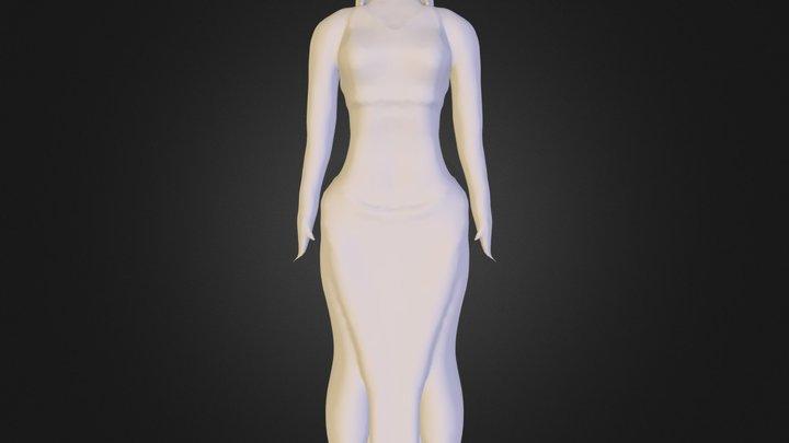 Sea Lady_0001.obj 3D Model