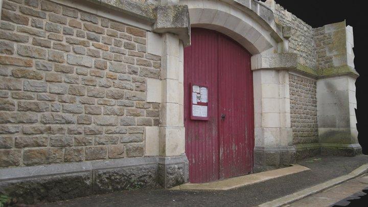 Porte Eglise Parce-Sur-Sarthe 3D Model