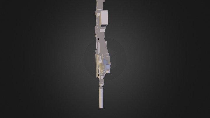 M4A1.fbx 3D Model