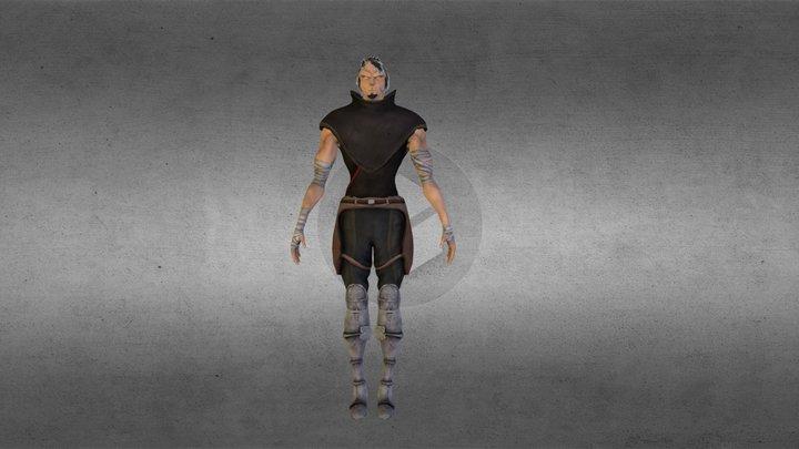 Character_salem.obj 3D Model