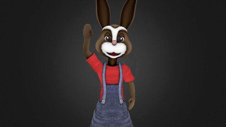 Bunny Avatar 3D Model