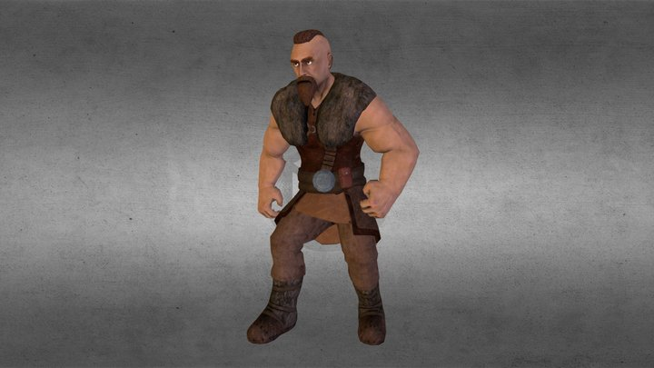 Viking 3D Model