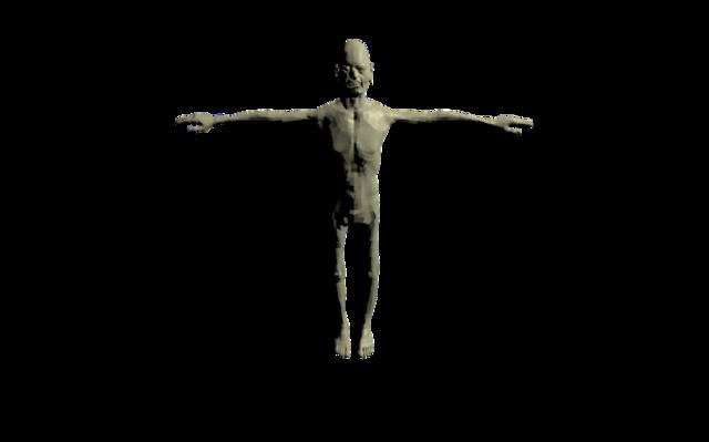 zombie_marche.blend 3D Model