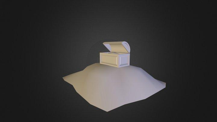 Treasure Chest.obj 3D Model