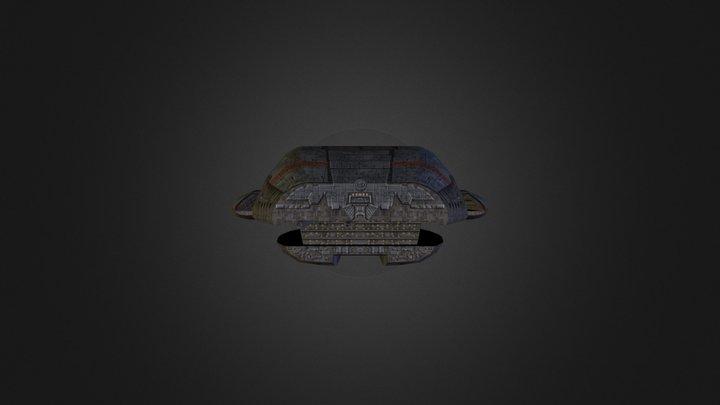 le Galactica 3D Model