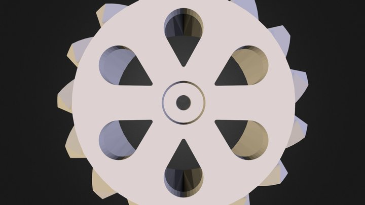1_10_tyre_mirrored.stl 3D Model