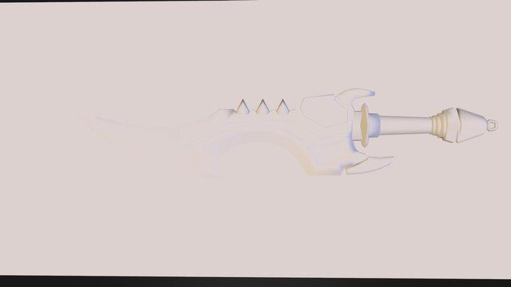sword_obj.obj 3D Model