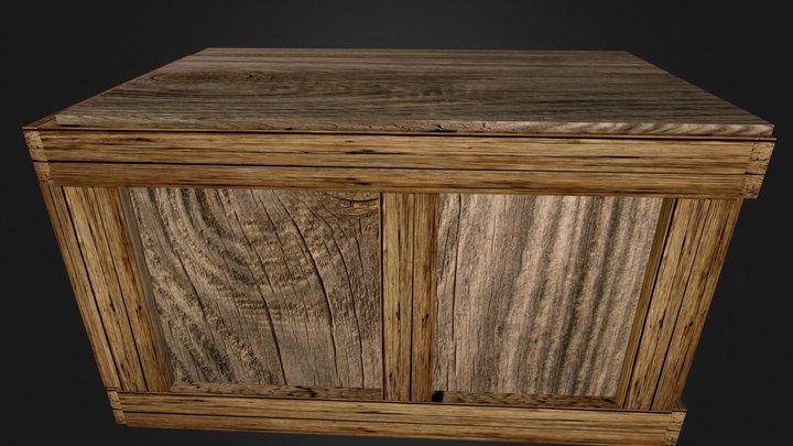 Crate.zip 3D Model