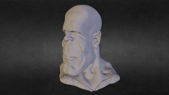 Bruce Willis by Galladur 3D Model