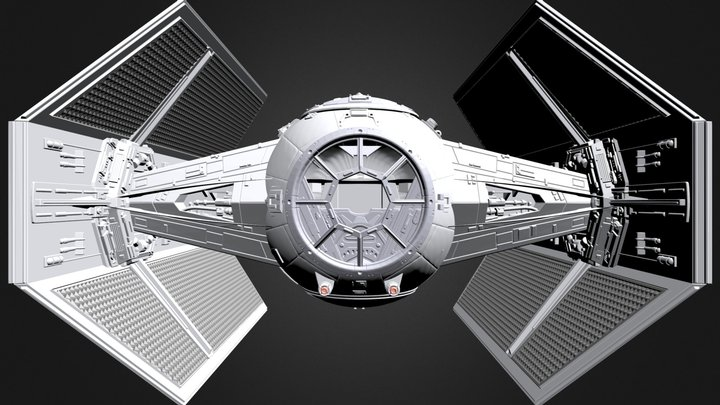 Vader 3D Model