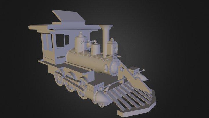 Locomotive Paul Potter 3D Model