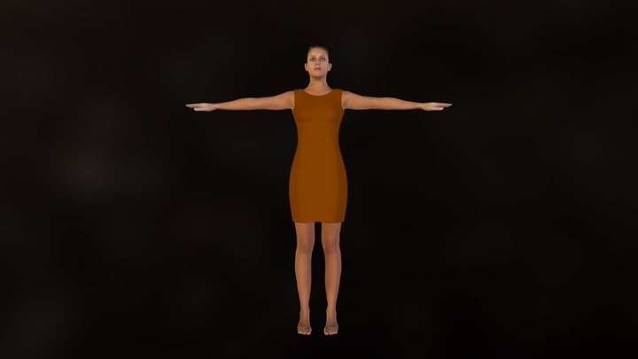 demo_clothed_brown.zip 3D Model