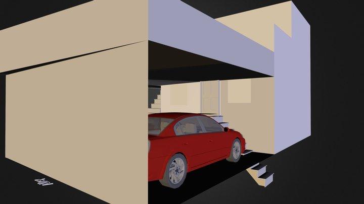 Parking.dae 3D Model