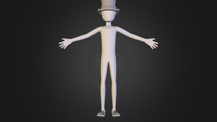 rigged_character.blend 3D Model
