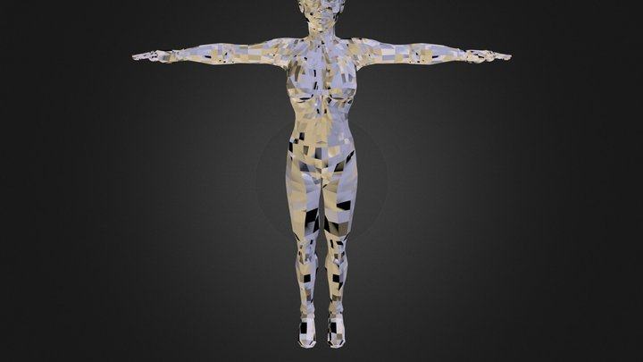 SL_Female.obj 3D Model