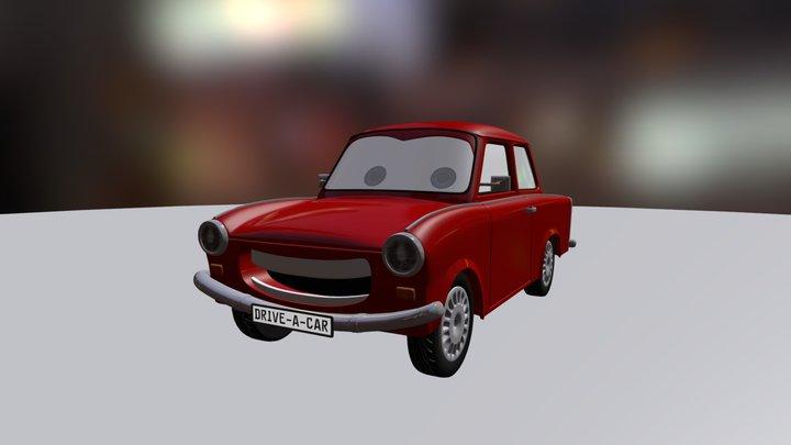 Drive-a-Car 3D Model
