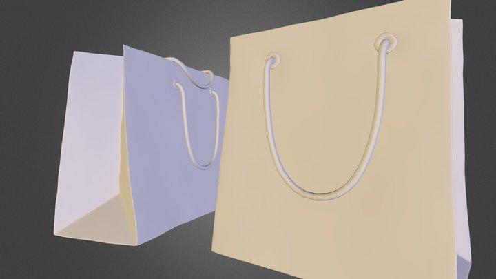 loewe_bag.obj 3D Model