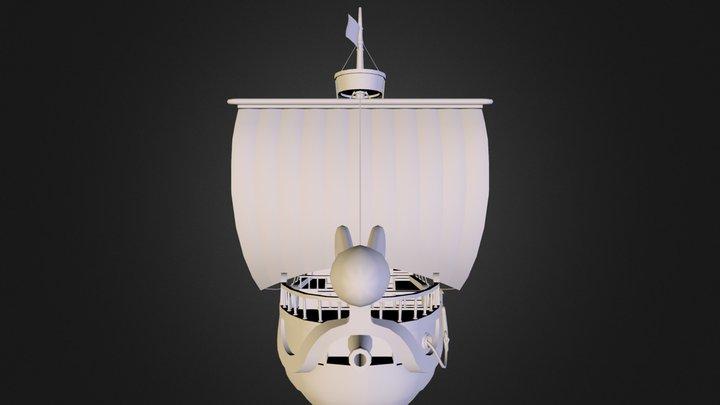 GoingMerry.obj 3D Model