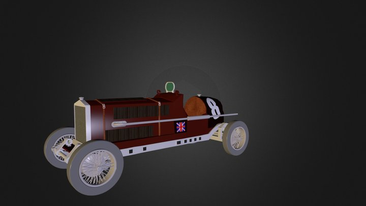 Old_Bentley 3D Model