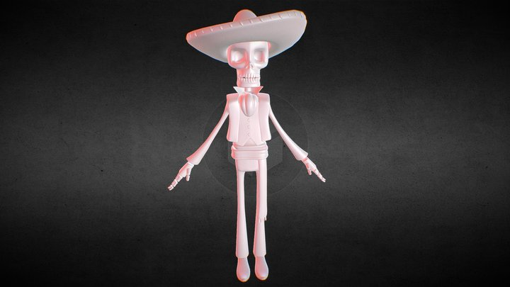 El Calaca 3D Model