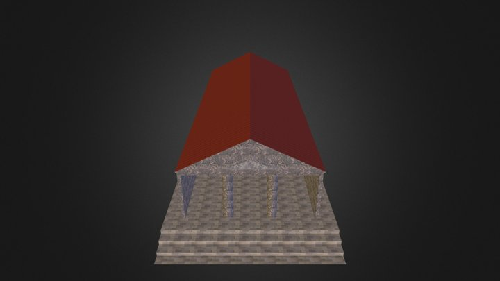 Tempel in Ante.kmz 3D Model