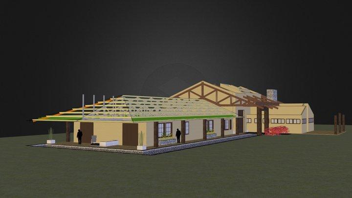 Fazenda Ycatu - s/ Telhado 3D Model