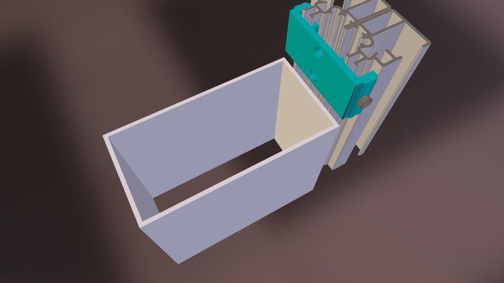 50 mm fasade 3D Model