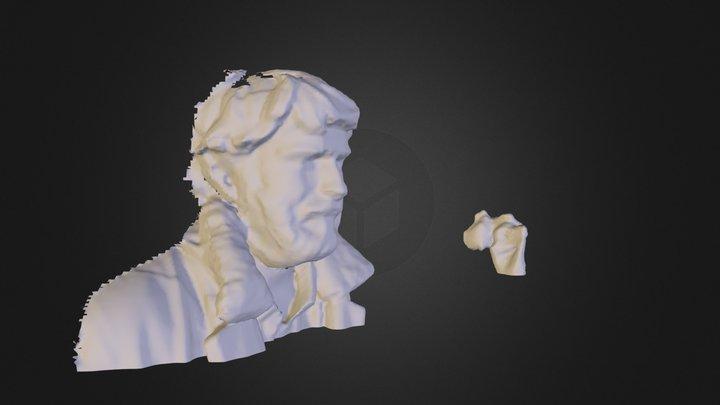 wayne1.dae 3D Model