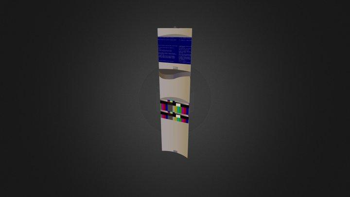 immeuble long ecans.zip 3D Model